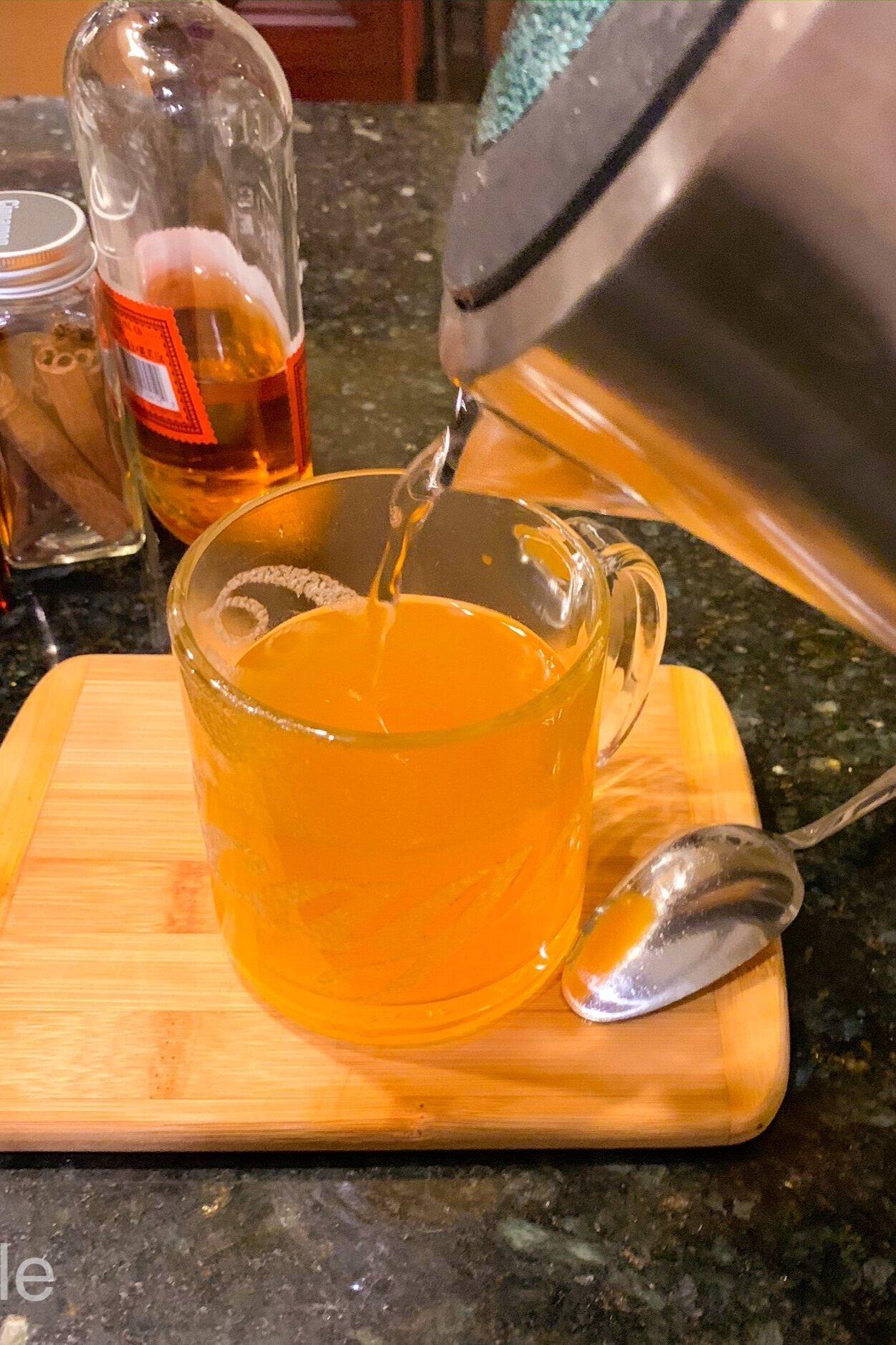 Pumpkin Hot Toddy Recipe
