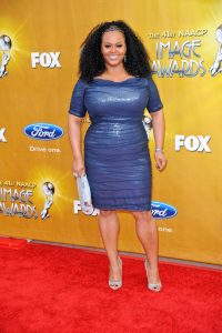 Jill Scott Inverted Triangle Body Shape